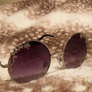 Circle Sun Glasses F21
